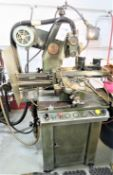 Barker Horizontal Milling Machine with Redmer Air Collet Fixture Model AM, SN 1267