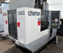 Chiron FZ-12W Magnum CNC Vertical Machining Center, S/N LXH1031, New 2003