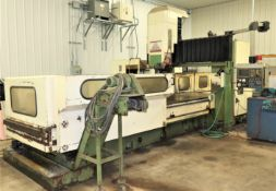 "144""x49"" Amura (Kao Ming) CNC Bridge Type Vertical Machining Center,"