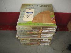 (13) Boxes of Vinyl Floor Tiles (Self Adhesive)
