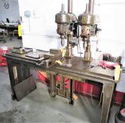 Dual Head Walker Turner Drill Press Model 1216-22, SN 321, 320