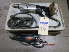 Electric Drill and Electric Filer