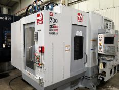 "12""x12"" Haas EC-300 CNC 4-Axis Horizontal Machining Center, S/N 58580, New 2005"