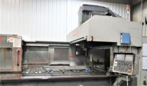 "59""x128"" Awea SP-3016 Bridge Type Double Column CNC Vertical Machining Center, New 2008"