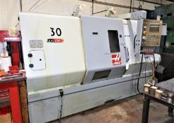 Haas SL-30T CNC Turning Center Lathe, S/N 71829, New 2006