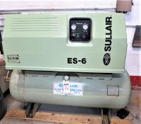 Sullair 10HP ES-6 Air Compressor