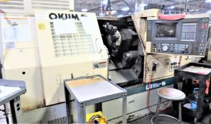Okuma LB-15II-W 2-Axis CNC Lathe Turning Center, S/N 2592, New 1998