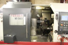 Feeler HT-30SY High Performance CNC Lathe with Milling & Y-Axis, S/N TNSY015, New 2011