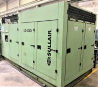350 HP Sullair Model LS-25S-350H/A Screw Type Air Compressor, S/N 200806300092, New 2008