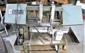 WF Wells Model A-7 Horizontal Band Saw, SN 755783