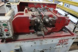 Reed Model B111 Twin Spindle Thread Roller, S/N 838