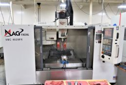 Fadal 4020FX 3-Axis CNC Vertical Machining Center, New 2008