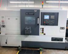 2013 SMEC Samsung SL-25BSY CNC Lathe with Live Tooling and Y-Axis, SN 13K3K0009