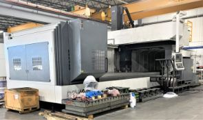 6M X 3M YCM MODEL DCM6030 CNC BRIDGE TYPE VERTICAL MILL, NEW 2012