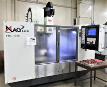 Fadal VMC 4020HT 3-Axis CNC Vertical Machining Center, New 2007