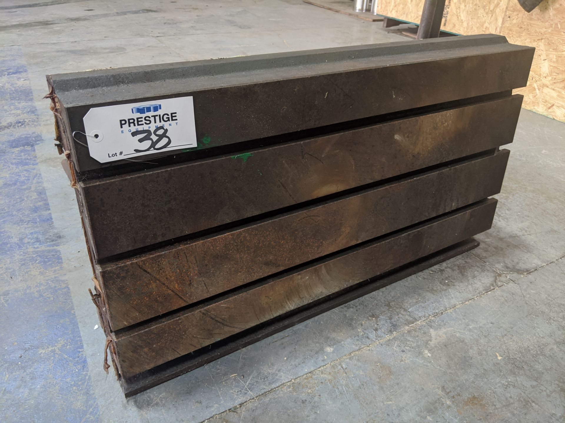 """Lot 38 - 35"""" x 19.5"""" T-Slotted Table"""