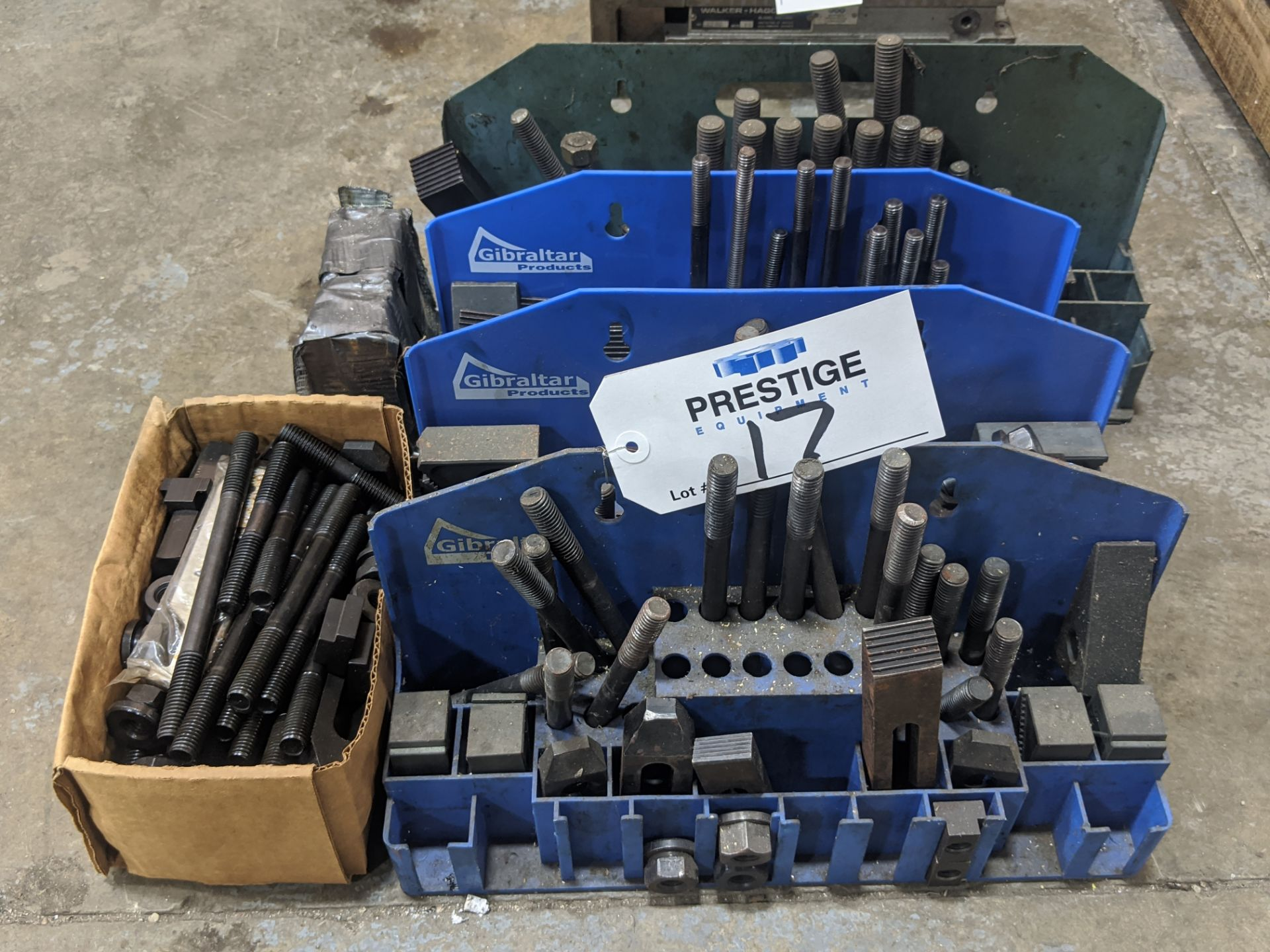 Lot 17 - Assorted Set-Up & Hold-Down Tooling