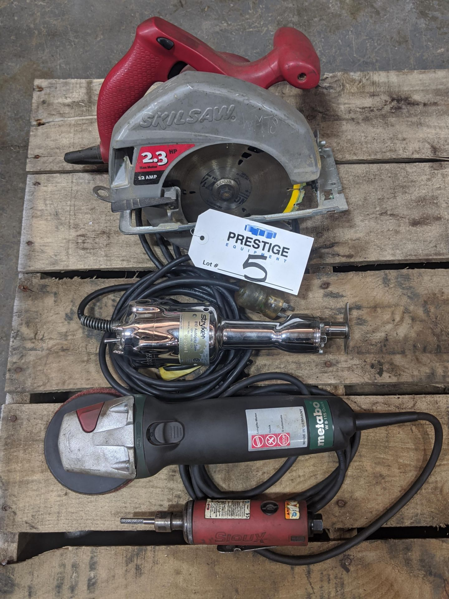 Lot 5 - Assorted Power Tools
