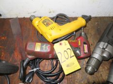 CRAFTSMAN 3/8 IN. COMPACT AND DEWALT 3/8 IN. DRILL
