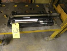 (2) TORQUE WRENCHES