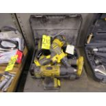 DEWALT CORDLESS DRILLS, BATTERIES AND CHARGERS