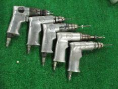 (5) Central Pneumatic Pistol Grip Pneumatic Drill