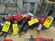 (5) Master HG-501A Electric Heat Guns