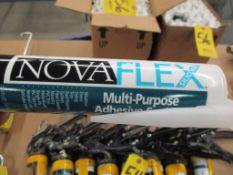 (2) Cases of Nova Flex Multi-Purpose Adhesive Sealant, (24) per case