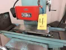 1984 DOALL VS618 SURFACE GRINDER, S/N 357-84764, 6 IN X 18 IN WALKER PERMANENT MAGNETIC CHUCK