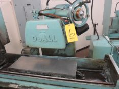DOALL D824-12 AUTO HYDRAULIC SURFACE GRINDER, S/N 222-76418, 8 IN X 24 IN ELECTRO-MAGNETIC CHUCK