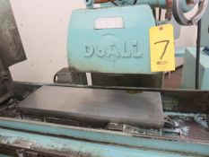 DOALL D824-12 AUTO HYDRAULIC SURFACE GRINDER, S/N 222-76417, 8 IN. X 24 IN. ELECTRO-MAGNETIC CHUCK