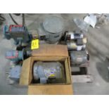 SKID OF ASSORTED MOTORS AND REDUCERS
