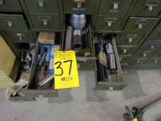30-DRAWER PARTS CABINET (CONTENTS OTHER THAN HELICOIL IN LOT 36)