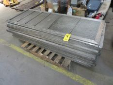 PALLET OF ALUMINUM CHIP SCREENS