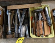 ASSORTED LATHE AND EXPANSION MANDRELS