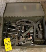 ASSORTED CLAMPS AND GAUGES