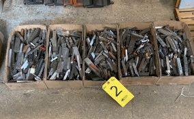 (5) BOXES OF TOOL STEEL