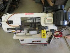 JET HORIZONTAL/VERTICAL BAND SAW, 8 IN.X 10 IN., 3/4HP W/BLADES