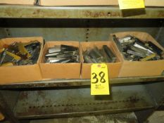 (4) BOXES OF ASSORTED TOOL STEEL