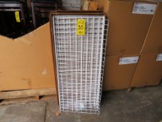 (18) BOXES OF 21 IN. X 48 IN. WIRE GRID SHELVES