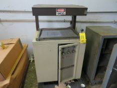 SERGEANT VACUUMASTER 1824-1 VACUUM PACKAGING MACHINE AS IS)