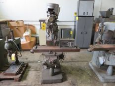 BRIDGEPORT 2J VARIABLE SPEED VERTICLE MILL (AS IS)