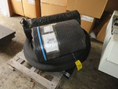 50 FT. ROLL OF TERRADRAIN, COIL OF PVC PIPE W/MESH COVER AND A ROLL OF FELT
