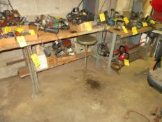 (3) ASSORTED METAL WORKBENCHES