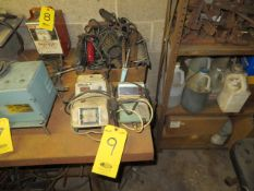 (2) WELDING STATIONS W/ASSORTED SOLDERING IRONS