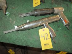 NH PNEUMATIC CHIPPER GUN AND PNEUMATIC HAND SAW