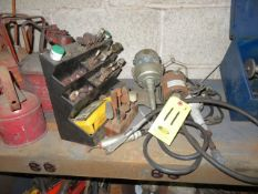 (3) FLEX GRINDING/DRILLING UNITS WITH ASSORTED BITS
