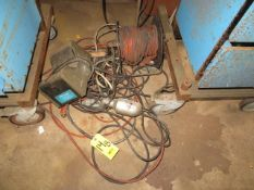 MISC. EXTENSION CORDS AND CHROMEGA AGGITATOR