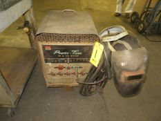 MID-STATES POWER-TRAN 180AMP STICK WELDER W/LEAD AND MASK