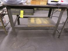 48 IN. AND 36 IN. IRON TOP TABLES